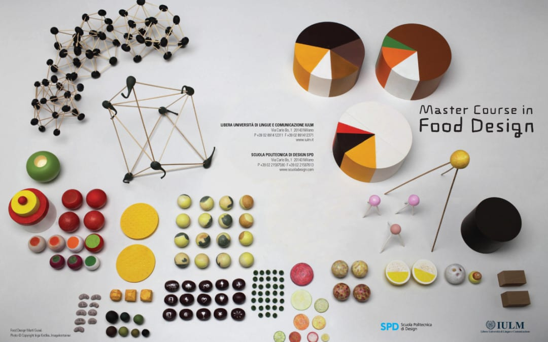 「食物設計」在米蘭開課囉!食物設計元老 Marti Guixè 和 Stefano Giovannoni 就是你的老師!