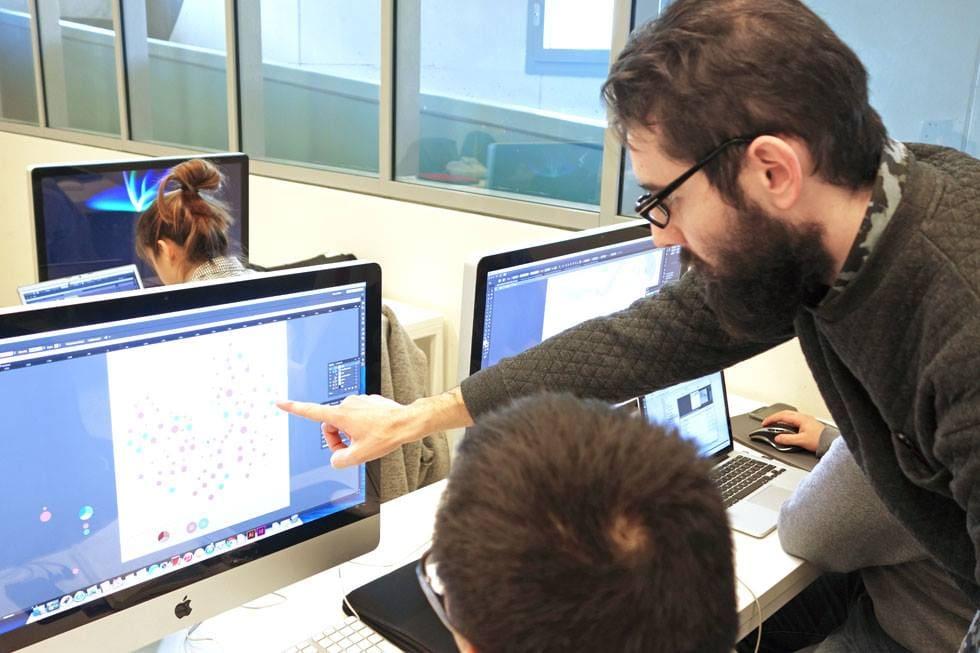 SPD米蘭工業設計學院視覺設計碩士課程工作坊上課圖集