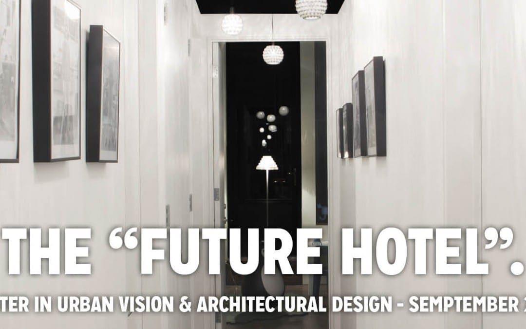 Domus Academy義大利設計碩士學院 2015年9月開課城市景觀與建築設計碩士獎學金競賽
