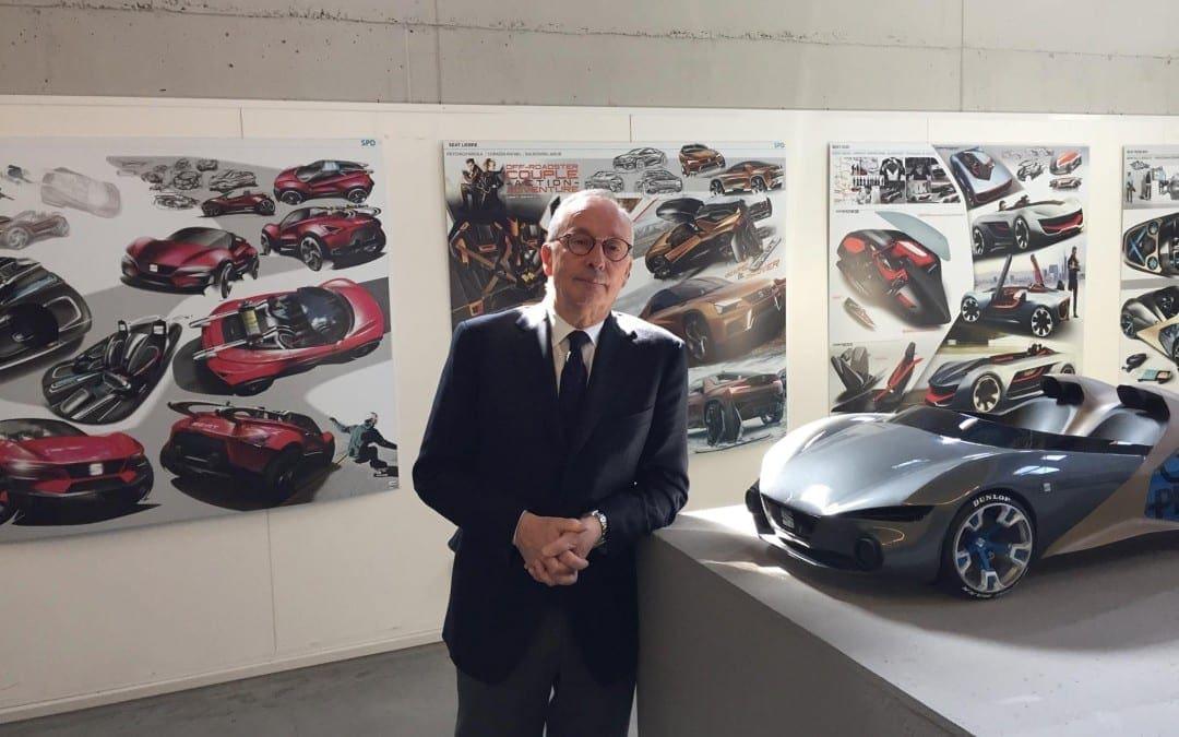 福斯集團設計部總監參訪SPD米蘭工業設計學院