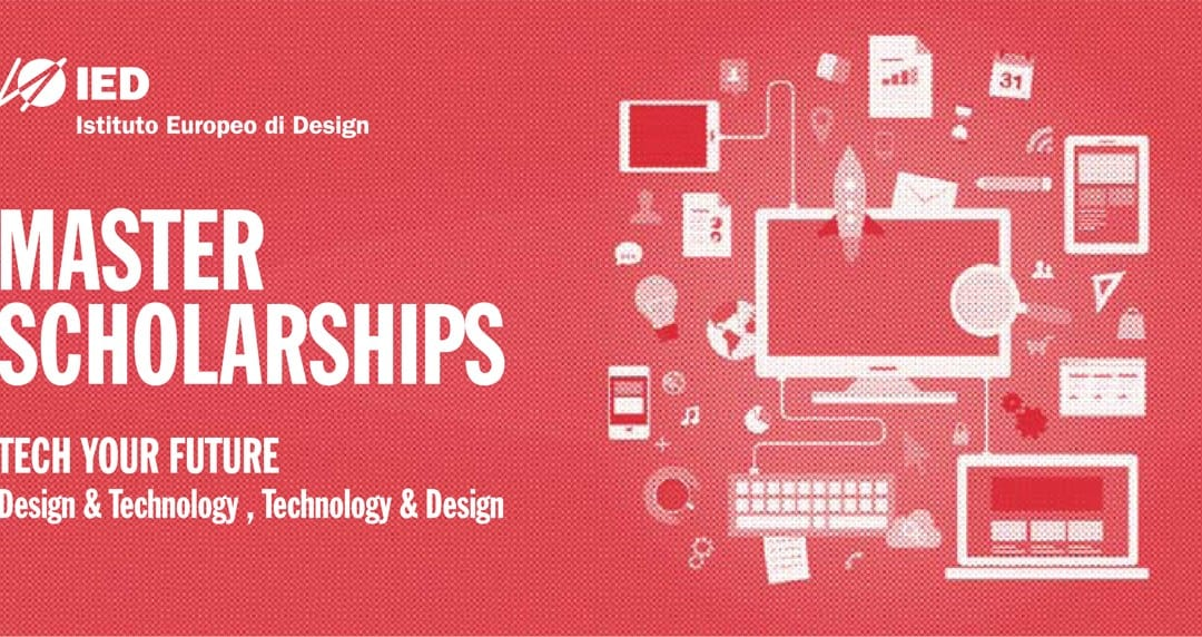 IED歐洲設計學院「TECH YOUR FUTURE」留學碩士課程獎學金競賽