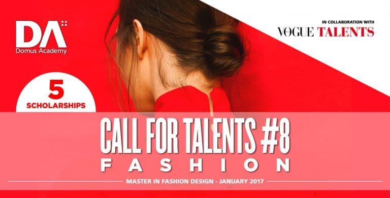 Domus Academy 2017年1月開課服裝設計碩士獎學金競賽