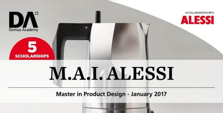 Domus Academy 2017年1月開課產品設計碩士獎學金競賽