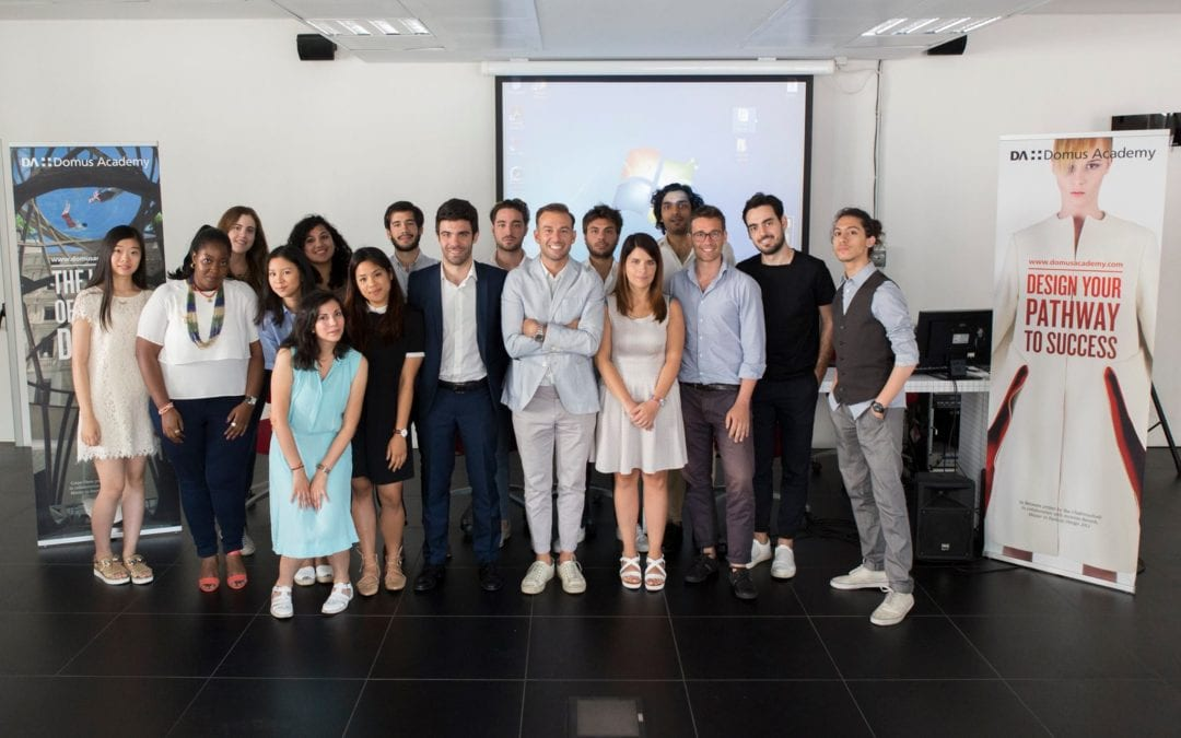 Domus Academy學生與Unicredit Start Lab工作坊圖集