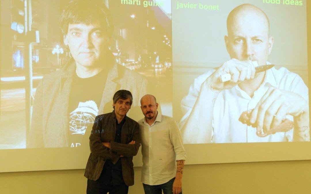 【圖集】SPD米蘭工業設計學院「食物設計碩士」大師講座Martí Guixé、Javier Bonet