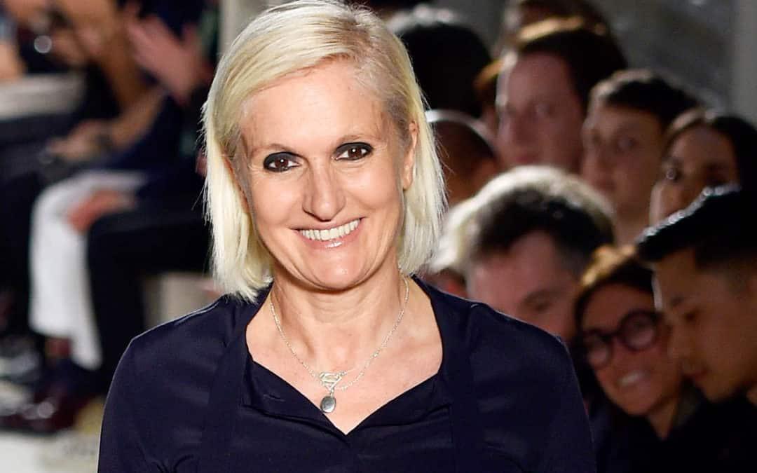 Maria Grazia Chiuri (IED歐洲設計學院傑出校友)將出任Christian Dior創意總監