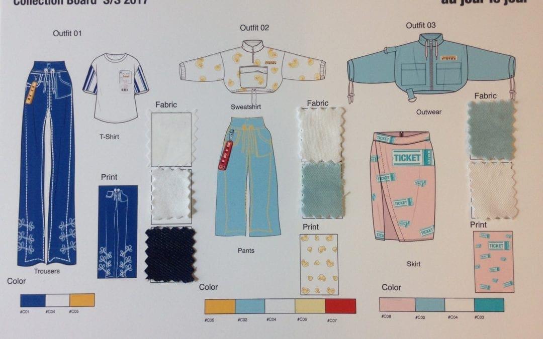 Istituto Marangoni與義大利品牌Au Jour Le Jour合作專案學生作品「The Uniform」