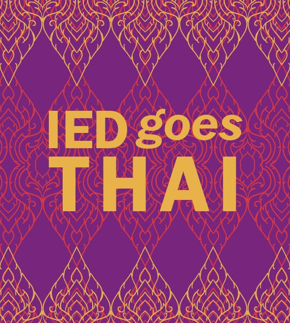 IED歐洲設計學院羅馬校區 x 泰國國家旅遊局