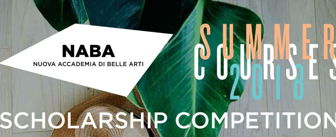 NABA米蘭藝術大學2018年暑期遊學50%學費減免獎學金申請