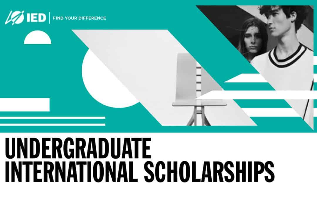IED歐洲設計學院-義大利與西班牙校區2019/10入學學士獎學金競賽