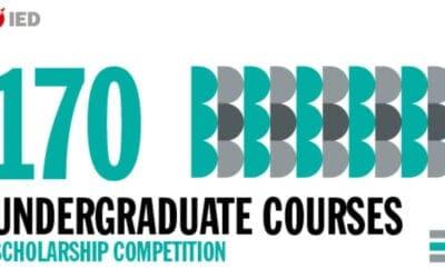 IED歐洲設計學院-義大利校區2021學年學士獎學金競賽